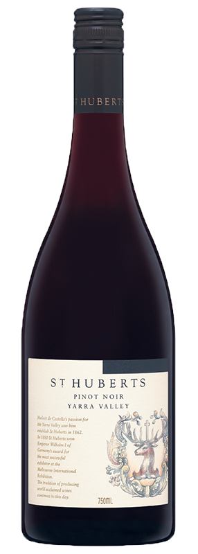 $150.00 per case (6) delivered - ST HUBERTS Pinot Noir 2017