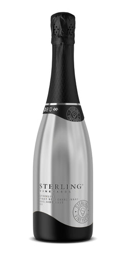 $126.00 per case (6) delivered - STERLING VINEYARDS Pinot Noir Chardonnay NV