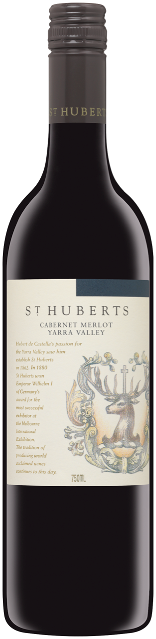 $126.00 per case (6) delivered - ST HUBERTS Cabernet Merlot 2017