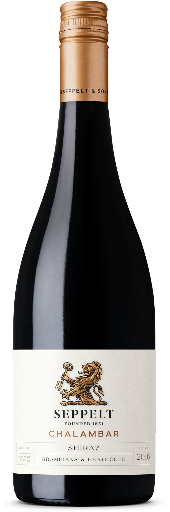 $126.00 per case (6) delivered - SEPPELT FOUNDATION RANGE Chalambar Shiraz 2018