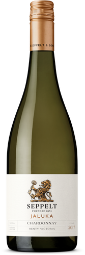 $120.00 per case (6) delivered - SEPPELT FOUNDATION RANGE Jaluka Henty Chardonnay 2018