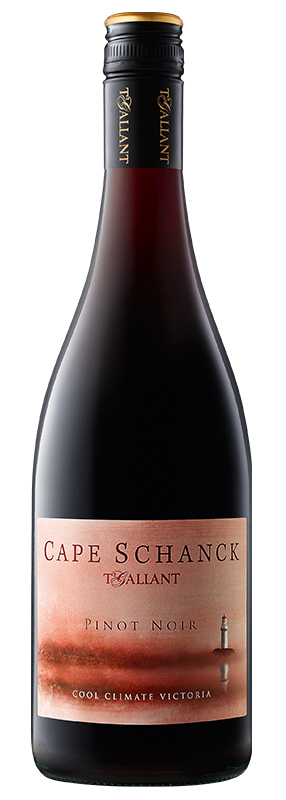 $96.00 per case (6) delivered - T'Gallant Cape Schanck Pinot Noir 2019
