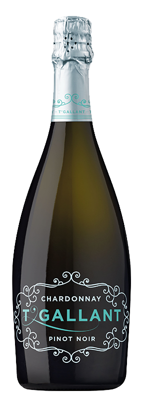 $90.00 per case (6) delivered - T'Gallant Chardonnay Pinot Noir Sparkling NV