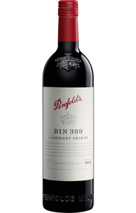 $510.00 per case (6) delivered - Penfolds Bin 389 Cabernet Shiraz 2018 (in a case of 6)