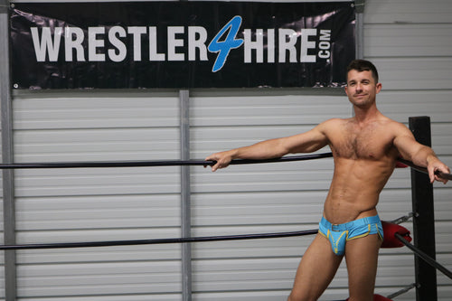 Aqua Zipper Briefs