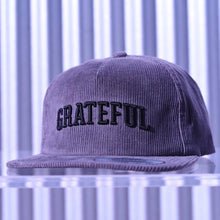 Load image into Gallery viewer, GRATEFUL Corduroy Snapback
