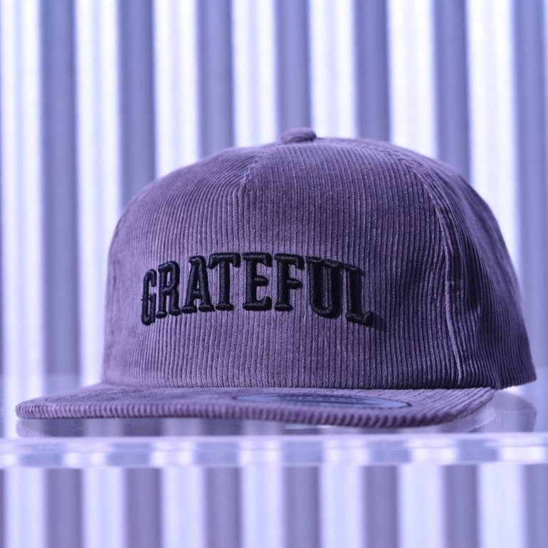 GRATEFUL Corduroy Snapback