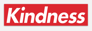 Supreme KINDNESS Sticker