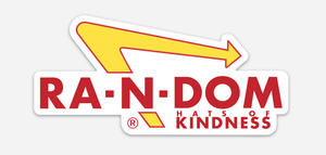 KIND In N Out Sticker