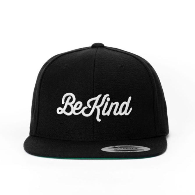BE KIND Black Snapback