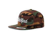 Load image into Gallery viewer, BE KIND Camo Snapback