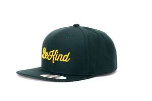 BE KIND Green Snapback