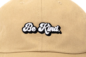 BE KIND Dad Hat Khaki
