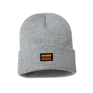 GRATEFUL BEANIE GREY
