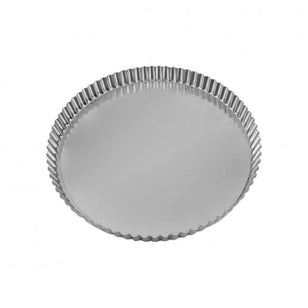 QUICHE PAN -  ROUND FLUTED 200x25MM LOOSE BASE