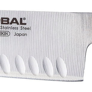 GLOBAL SANTOKU FLUTED 18CM G-48