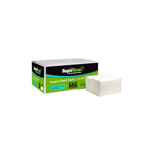 RapidClean Compact Towel 19.5 x 26cm (Carton of 20 packs)