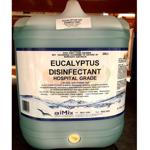 SHINAX HOSPITAL GRADE DISINFECTANT EUCALYPTUS 20LT