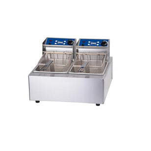 FRYER-DOUBLE 5L-2x10AMP