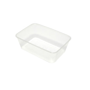 MICROWAVABLE 750ML RECTANGULAR CONTAINER (50)