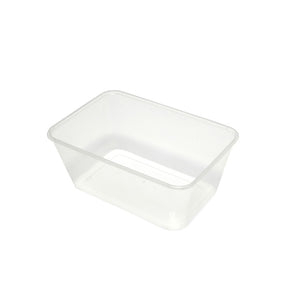 MICROWAVEABLE 1000 ML RECTANGULAR CONTAINER (50)