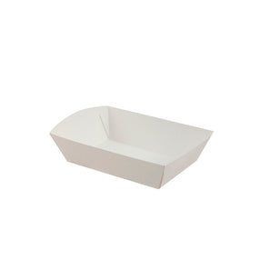 PLAIN FOOD TRAY 225 X 138 X 44 (50)