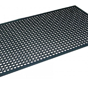 SAFETY CUSHION MAT SMALL 600x900MM - BLACK