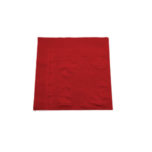PREMIUM 2PLY DINNER NAPKIN RED [100]