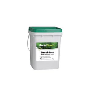 RAPID STREAK-FREE (DISHWASH POWDER & RINSE AID) 10KG BUCKET