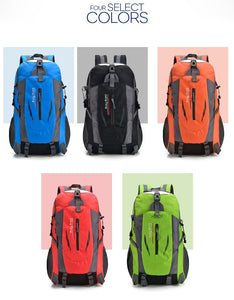 Backpack - Fashion Student School Bag - Nylon Backpack - Laptop Bag - High Capacity - Casual Travel Bag
