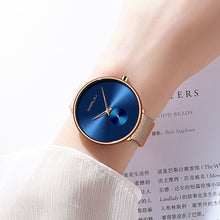 Load image into Gallery viewer, Fashion Ladies Watch By CRRJU - Casual - Mesh Band - Low prices everyday!