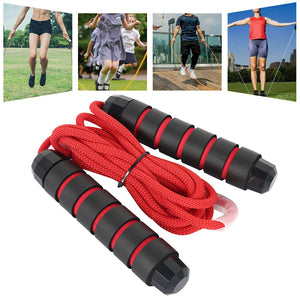 Skip Rope - Speed Fitness - Aerobic Jumping Exercise - Adjustable Skipping