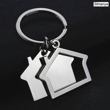Load image into Gallery viewer, Personality House Key Chain- Fashion Charm Keychains Metal Key Ring - Gift Jewelry