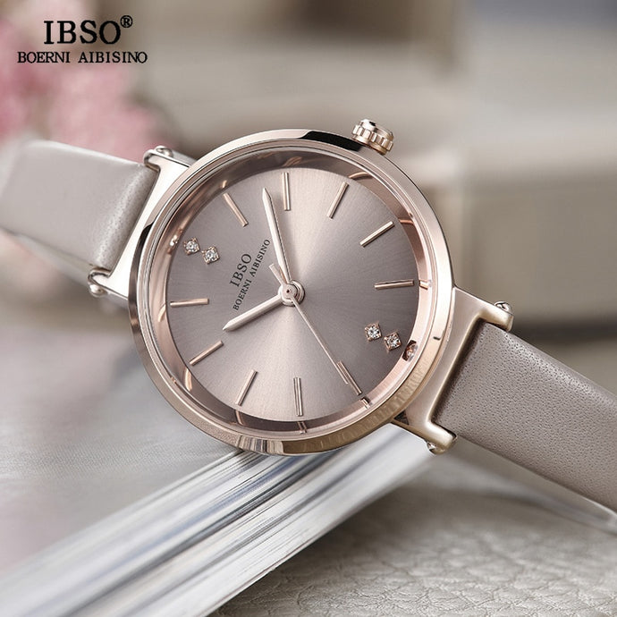 IBSO Fashion Ladies Watch -  Leather Band Quartz - Low prices everyday!
