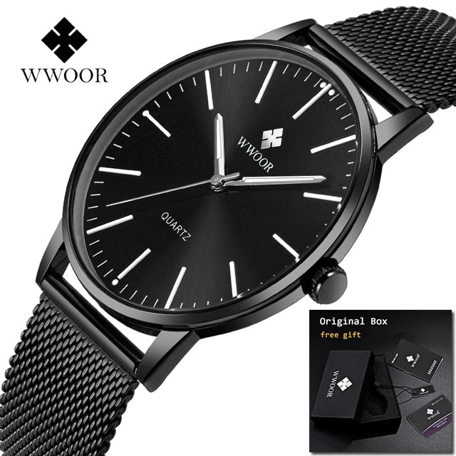 Men's Watch - Full Stainless Steel WWOOR - Low prices everyday!