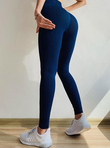 Women's Sports Leggings Seamless For Fitness With Tummy Control High Waist