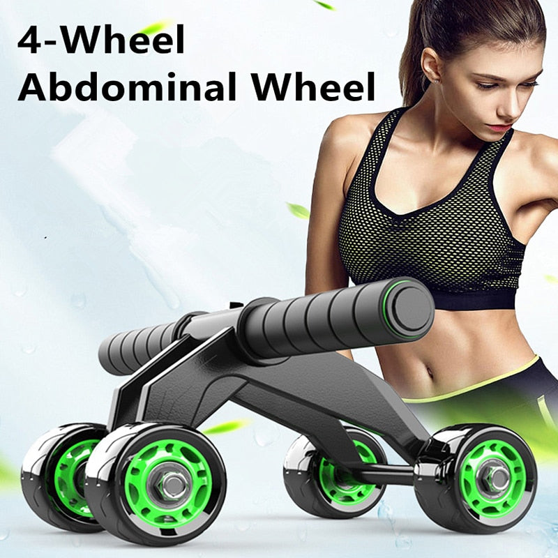 Power Wheel Abdominal Roller Fitness Muscle Trainer
