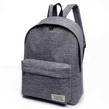 Load image into Gallery viewer, Men/Women Canvas Backpack Black Travel For Teenagers