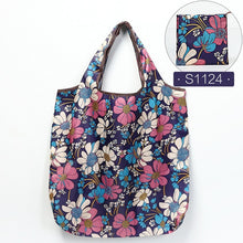 Load image into Gallery viewer, Reusable Eco-Friendly Grocery Shopping Bags - Small Size - Light Duty - Folding Tote Bag With Handle