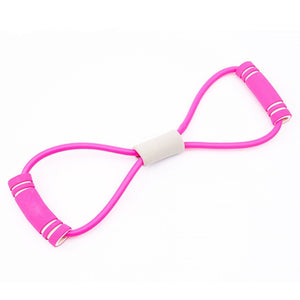 Yoga - Gym Fitness Resistance Band- Workout - Muscle Fitness - Elastic Bands for Sports & Exercise