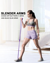 Load image into Gallery viewer, Yoga - Gym Fitness Resistance Band- Workout - Muscle Fitness - Elastic Bands for Sports & Exercise