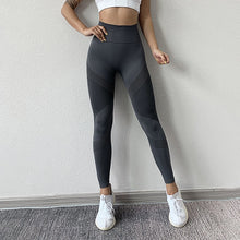 Load image into Gallery viewer, NORMOV Seamless Leggings - Casual High Waist - Push Up - Ankle Length - Workout Fitness