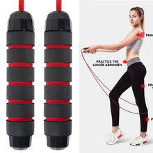Load image into Gallery viewer, Skip Rope - Speed Fitness - Aerobic Jumping Exercise - Adjustable Skipping