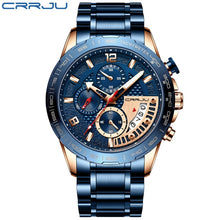 Load image into Gallery viewer, Fashion Stainless Steel Men's Watch - Low prices everyday!