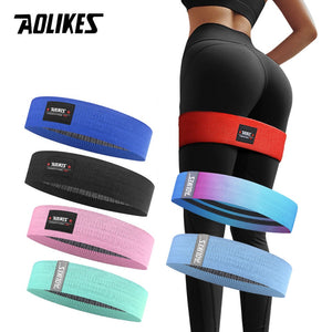 Hip Circle Loop Resistance Band Workout Exercise for Thigh Squat Non-Slip High Quality