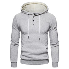 Load image into Gallery viewer, Autumn Winter Cotton Hoodie - Men's Sweatshirt - Solid thick Fleece - Sportswear - Zipper Sweatshirt - Pocket - Giraffe Logo