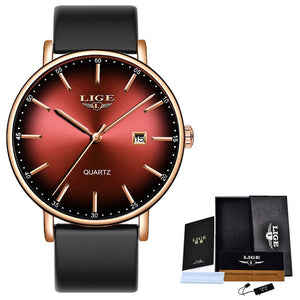 LIGE Ladies Watch - Ultra-thin - Calendar - Quartz - Mesh Stainless Steel Band - Low prices everyday!
