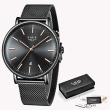 Load image into Gallery viewer, LIGE - Ladies Watch - Fashion Stainless Steel - Ultra-Thin - Casual - Quartz - Low prices everyday!
