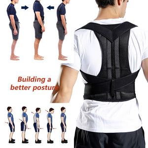 Posture Corrector - Adjustable - Adult Correction Belt - Shoulder Trainer - Vest Belt