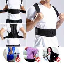 Load image into Gallery viewer, Posture Corrector - Adjustable - Adult Correction Belt - Shoulder Trainer - Vest Belt
